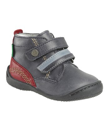 Navy Guignol Ankle Boot - Kids