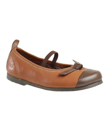 Light Brown Love Flat - Kids