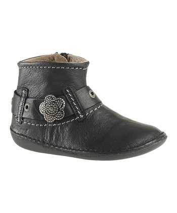Black Explode Ankle Boot