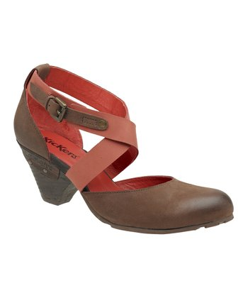 Brown Willow Pump - Women
