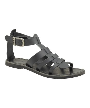 Black Djibouti Sandal - Women