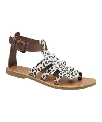 Black & White Djibouti Sandal - Women