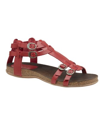Red Ana Sandal - Women