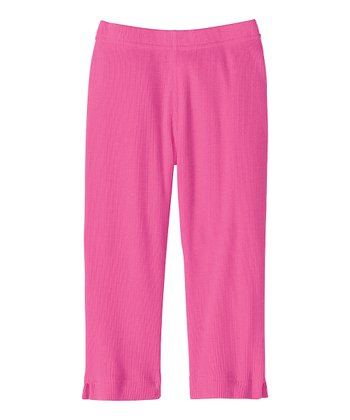 Bouquet Pink Capri Pants - Infant, Toddler & Girls