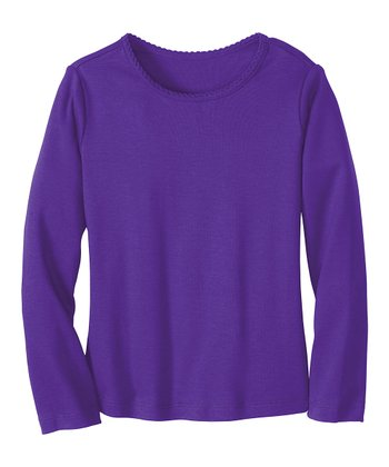 Perfect Purple Play It Again Pima Tee - Infant, Toddler & Girls