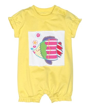 Sunshower Fish Get Appy Bubble Romper - Infant & Toddler