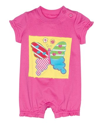 Bouquet Pink Get Appy Bubble Romper - Infant & Toddler