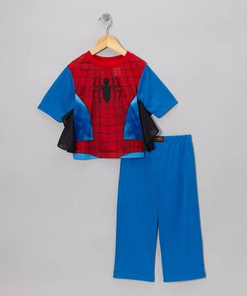 Red Spider-Man Pajama Set - Toddler & Boys