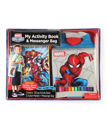 Messenger Bag & Activity Set