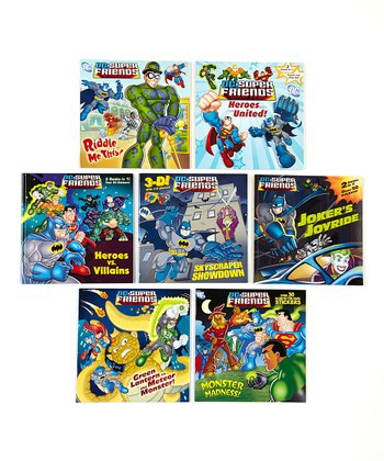Super Heroes United Paperback Set