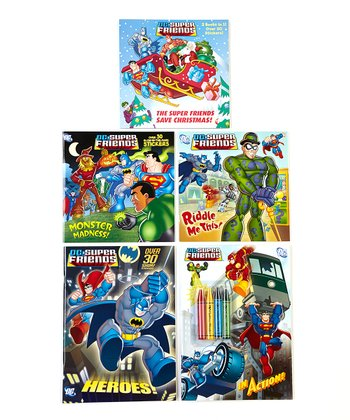 DC Super Friends Paperback Set