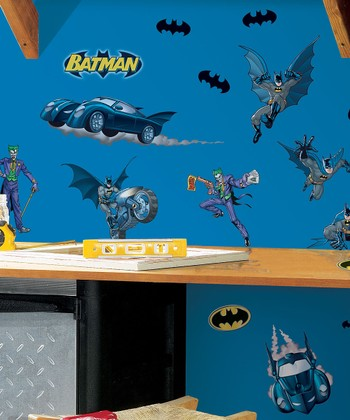 Batman Peel & Stick Wall Decals