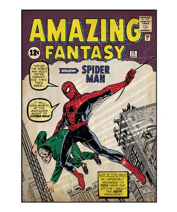 Amazing Fantasy #15 Comic Cover Wall Decal
