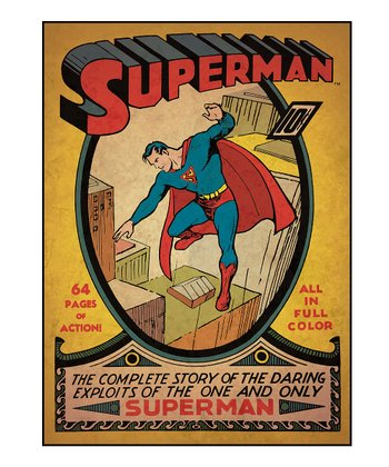 Superman Issue #1 Comic Cover Wall Decal