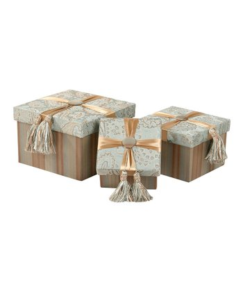 Jennifer Taylor Savannah Storage Gift Box Set
