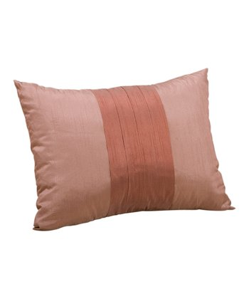 Rustic Brown Sandy Wilson Milano Lumbar Pillow