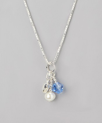 Sapphire Crystal September Birthstone Necklace