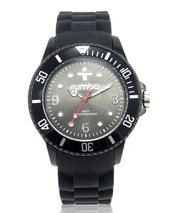 Black Small Perry Watch