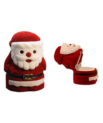 Red Santa Stocking Stuffer Box
