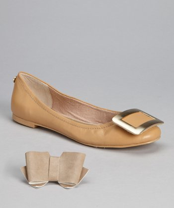 Tan Madison Flat - Women