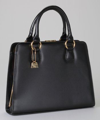 Black Square Satchel