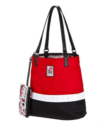 Seeing Red Reversible Shopper