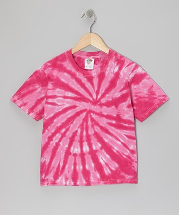Pink Tie-Dye Tee - Toddler & Kids