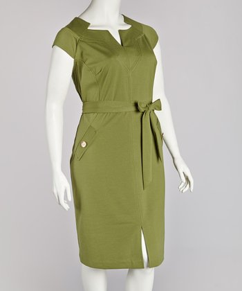 Grove Cap-Sleeve Dress - Plus