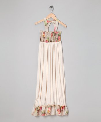 Rated G Ivory Floral Maxi Dress