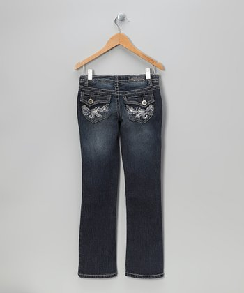Sam Flap-Pocket Bootcut Jeans - Girls