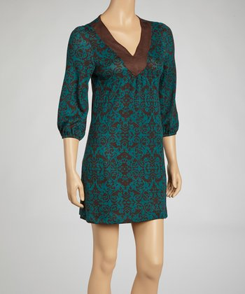 Teal Tunic Dress