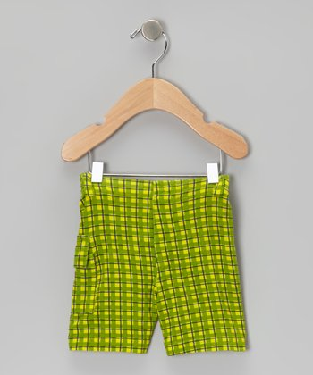 Meadow Plaid Shorts - Infant, Toddler & Boys