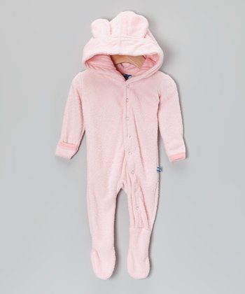 Lotus Fleece Hooded Footie - Infant