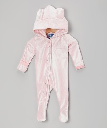 KicKee Pants Lotus Fleece Hooded Footie - Infant
