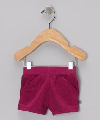 Orchid Fleece Shorts - Infant & Girls