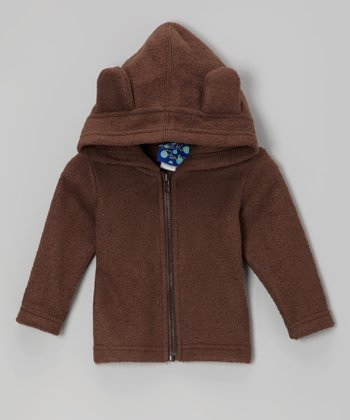 Bark Fleece Zip-Up Hoodie - Infant, Toddler & Kids