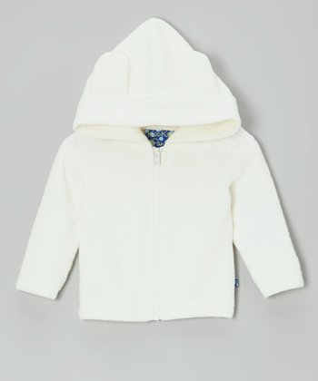 Natural Fleece Zip-Up Hoodie - Infant