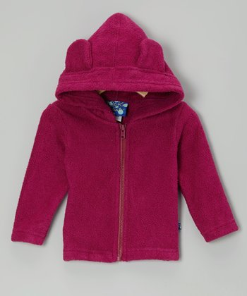 Orchid Fleece Zip-Up Hoodie - Infant & Toddler