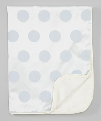 Sky Fancy Dot Stroller Blanket