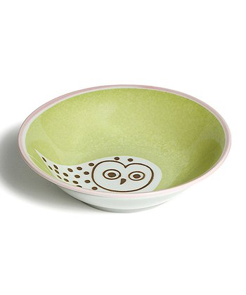 Green Owl Soup & Salad Bowl
