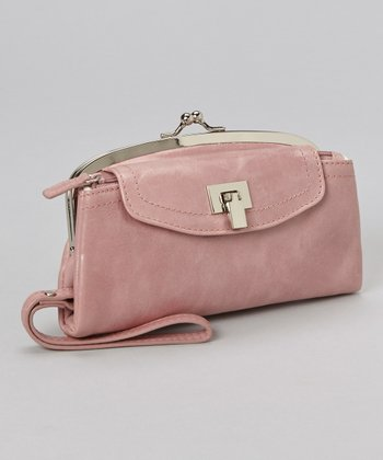 Pink Utility Light-Up Wristlet