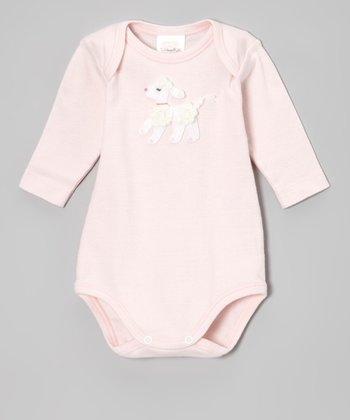 Pink Poodle Bodysuit - Infant