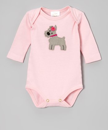 Pink Schnauzer Bodysuit - Infant