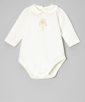 Off-White Bouquet Bodysuit - Infant