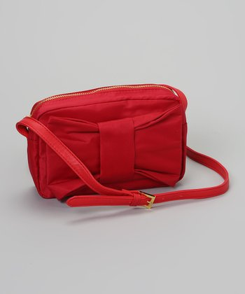Red Bow Crossbody Bag