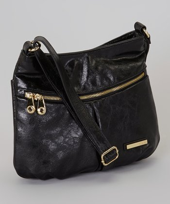 Black Wooster St Crossbody Bag