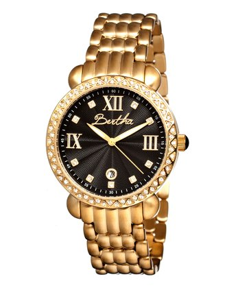 Gold & Black Ruth Watch
