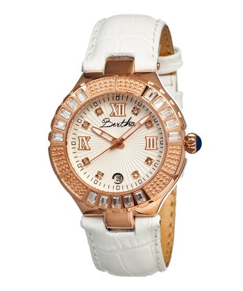 White Evelyn Watch