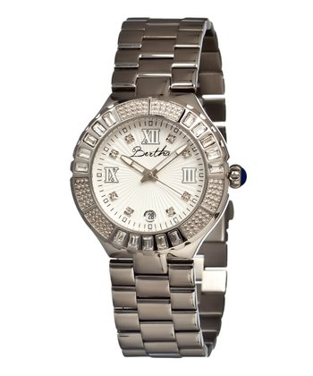 Silver Evelyn Watch