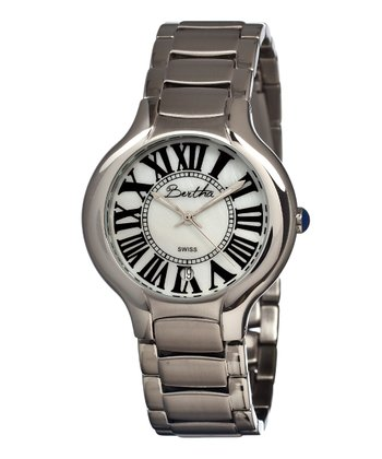 Silver & White Maude Watch